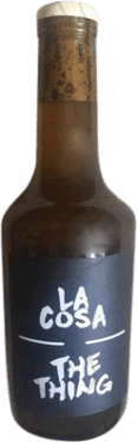9,95 € Free Shipping | Fortified wine Maestro Tejero La Cosa-The Thing I.G.P. Vino de la Tierra de Castilla y León Castilla y León Spain Muscatel Half Bottle 37 cl