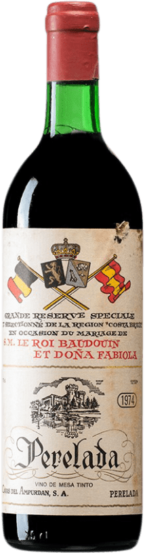 16,95 € | Red wine Perelada Reina Fabiola Reserva D.O. Empordà Catalonia Spain Merlot, Syrah, Grenache, Cabernet Sauvignon, Mazuelo, Carignan Bottle 75 cl