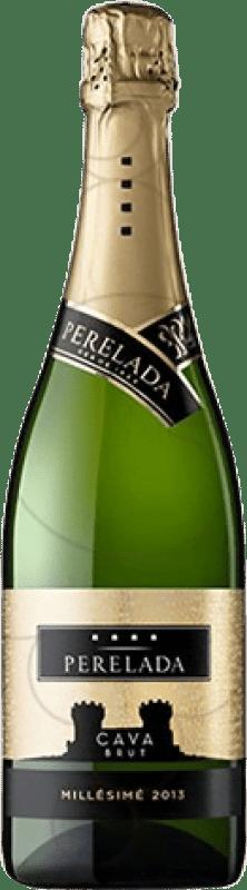 6,95 € | White sparkling Perelada Millésimé Brut Reserva D.O. Cava Catalonia Spain Macabeo, Xarel·lo, Parellada Bottle 75 cl