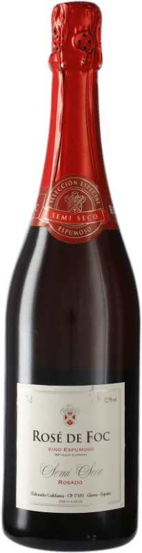 5,95 € 免费送货 | 玫瑰气泡酒 Perelada Rose de Foc 半干 加泰罗尼亚 西班牙 Tempranillo, Grenache, Mazuelo, Carignan 瓶子 75 cl