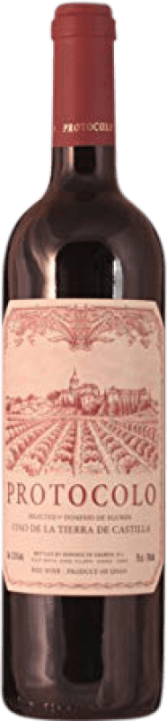 4,95 € Envoi gratuit | Vin rouge Dominio de Eguren Protocolo Joven La Rioja Espagne Tempranillo Bouteille 75 cl
