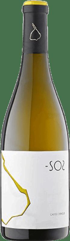 19,95 € | White wine Castell d'Encús -SO2 Crianza D.O. Costers del Segre Catalonia Spain Sauvignon White, Sémillon Bottle 75 cl