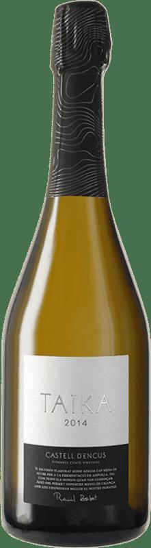 45,95 € Envoi gratuit | Blanc moussant Castell d'Encús Taika D.O. Costers del Segre Catalogne Espagne Sauvignon Blanc, Sémillon Bouteille 75 cl
