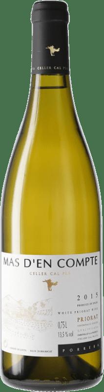 17,95 € 免费送货 | 白酒 Cal Pla Mas d'en Compte Crianza D.O.Ca. Priorat 加泰罗尼亚 西班牙 瓶子 75 cl