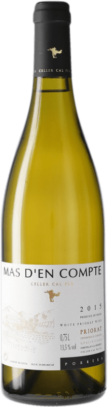 17,95 € Free Shipping | White wine Cal Pla Mas d'en Compte Crianza D.O.Ca. Priorat Catalonia Spain Bottle 75 cl