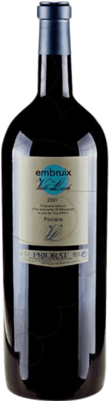 136,95 € 免费送货 | 红酒 Vall Llach Embruix Crianza D.O.Ca. Priorat 加泰罗尼亚 西班牙 Merlot, Syrah, Grenache, Cabernet Sauvignon, Mazuelo, Carignan 特别的瓶子 5 L