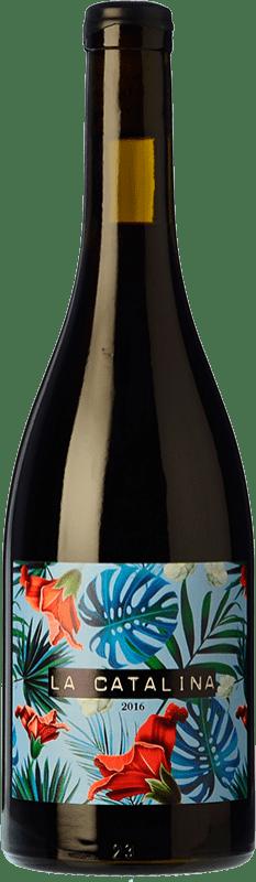 19,95 € 免费送货 | 红酒 Vall Llach La Catalina Crianza D.O.Ca. Priorat 加泰罗尼亚 西班牙 Grenache 瓶子 75 cl