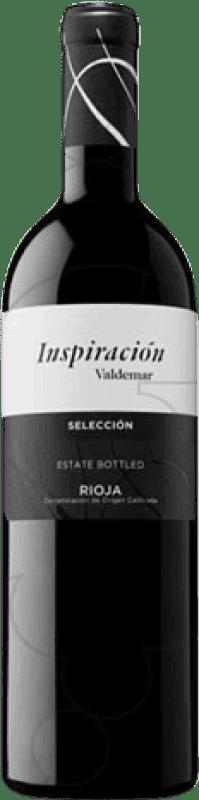 9,95 € 免费送货   红酒 Valdemar Inspiración Selección Crianza D.O.Ca. Rioja 拉里奥哈 西班牙 Tempranillo, Graciano, Maturana Tinta 瓶子 75 cl