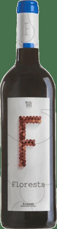 5,95 € 免费送货 | 红酒 Pere Guardiola Floresta Negre Joven D.O. Empordà 加泰罗尼亚 西班牙 Syrah, Grenache 瓶子 75 cl