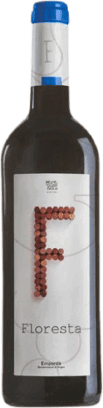 5,95 € Envío gratis | Vino tinto Pere Guardiola Floresta Negre Joven D.O. Empordà Cataluña España Syrah, Garnacha Botella 75 cl