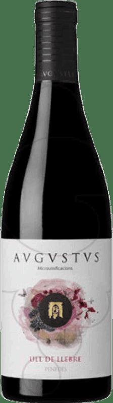 11,95 € Free Shipping | Red wine Augustus Ull de Llebre Crianza D.O. Penedès Catalonia Spain Tempranillo Bottle 75 cl