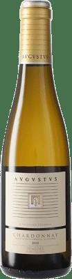 8,95 € Envío gratis | Vino blanco Augustus Crianza D.O. Penedès Cataluña España Chardonnay Media Botella 37 cl
