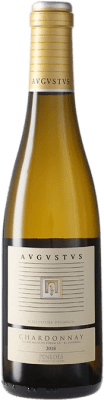 9,95 € Free Shipping | White wine Augustus Crianza D.O. Penedès Catalonia Spain Chardonnay Half Bottle 37 cl