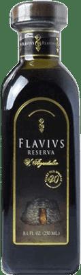16,95 € Free Shipping | Vinegar Augustus Flavivs Reserva Spain Cabernet Sauvignon Small Bottle 25 cl