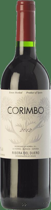43,95 € 免费送货 | 红酒 La Horra Corimbo Crianza D.O. Ribera del Duero 卡斯蒂利亚莱昂 西班牙 Tempranillo 瓶子 Magnum 1,5 L