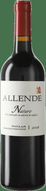 21,95 € Envoi gratuit | Vin rouge Allende Nature Joven D.O.Ca. Rioja La Rioja Espagne Tempranillo Bouteille 75 cl