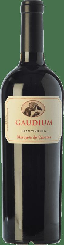 47,95 € 免费送货 | 红酒 Marqués de Cáceres Gaudium D.O.Ca. Rioja 拉里奥哈 西班牙 Tempranillo, Graciano 瓶子 75 cl