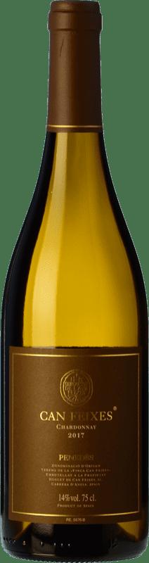 21,95 € Envío gratis | Vino blanco Huguet de Can Feixes Crianza D.O. Penedès Cataluña España Chardonnay Botella 75 cl