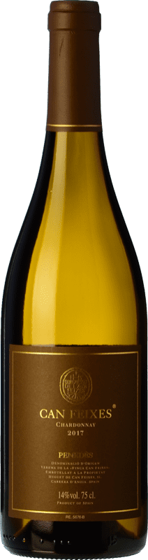 21,95 € Free Shipping | White wine Huguet de Can Feixes Crianza D.O. Penedès Catalonia Spain Chardonnay Bottle 75 cl