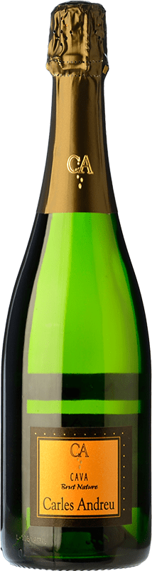 7,95 € Free Shipping | White sparkling Carles Andreu Brut Nature Joven D.O. Cava Catalonia Spain Macabeo, Parellada Bottle 75 cl