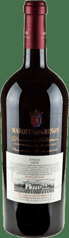 39,95 € | Red wine Marqués de Griñón 2007 D.O.P. Vino de Pago Dominio de Valdepusa Castilla la Mancha y Madrid Spain Syrah Magnum Bottle 1,5 L