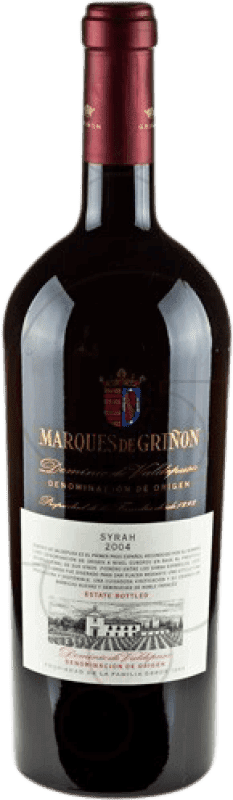 47,95 € Envío gratis | Vino tinto Marqués de Griñón D.O.P. Vino de Pago Dominio de Valdepusa Castilla la Mancha y Madrid España Syrah Botella Mágnum 1,5 L
