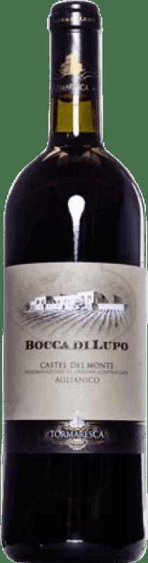 122,95 € Envoi gratuit | Vin rouge Tormaresca Bocca di Lupo 2008 Otras D.O.C. Italia Italie Aglianico Bouteille Magnum 1,5 L
