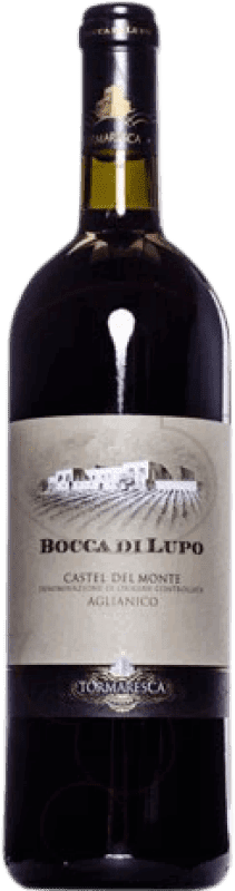 122,95 € Envío gratis   Vino tinto Tormaresca Bocca di Lupo 2008 Otras D.O.C. Italia Italia Aglianico Botella Mágnum 1,5 L