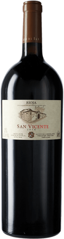 94,95 € Envoi gratuit | Vin rouge Señorío de San Vicente D.O.Ca. Rioja La Rioja Espagne Tempranillo Bouteille Magnum 1,5 L