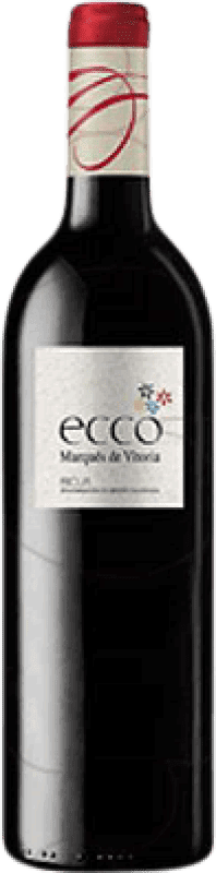 5,95 € | Red wine Marqués de Vitoria Ecco Joven D.O.Ca. Rioja The Rioja Spain Tempranillo Bottle 75 cl