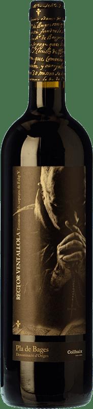 16,95 € Envío gratis | Vino tinto El Molí Collbaix El Rector de Ventallola Crianza D.O. Pla de Bages Cataluña España Merlot, Cabernet Sauvignon, Cabernet Franc Botella 75 cl