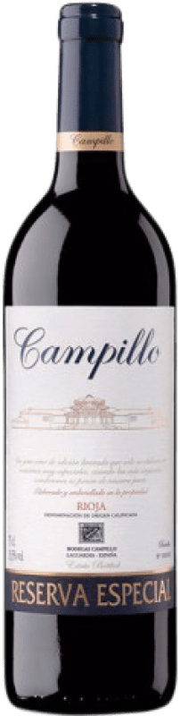 28,95 € | Red wine Campillo Especial Reserva D.O.Ca. Rioja The Rioja Spain Tempranillo, Graciano Bottle 75 cl