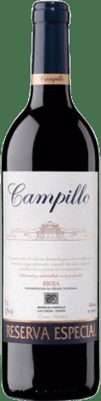 28,95 € Envío gratis | Vino tinto Campillo Especial Reserva D.O.Ca. Rioja La Rioja España Tempranillo, Graciano Botella 75 cl