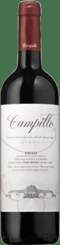 29,95 € Envío gratis | Vino tinto Campillo Reserva D.O.Ca. Rioja La Rioja España Tempranillo Botella Mágnum 1,5 L