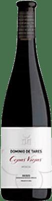 11,95 € Envío gratis | Vino tinto Dominio de Tares Cepas Viejas Crianza D.O. Bierzo Castilla y León España Mencía Media Botella 50 cl