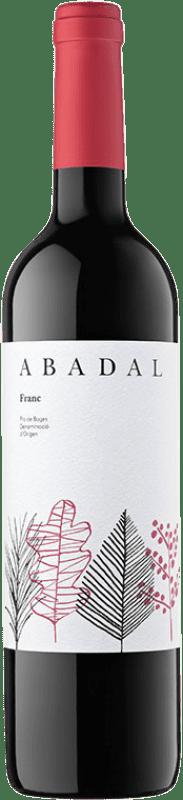 8,95 € Free Shipping | Red wine Masies d'Avinyó Abadal Franc D.O. Pla de Bages Catalonia Spain Tempranillo, Cabernet Franc Bottle 75 cl