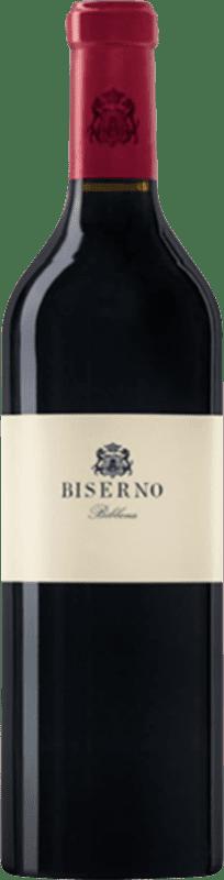 176,95 € Envío gratis | Vino tinto Tenuta di Biserno Bibbona Otras D.O.C. Italia Italia Merlot, Cabernet Sauvignon, Cabernet Franc, Petit Verdot Botella 75 cl
