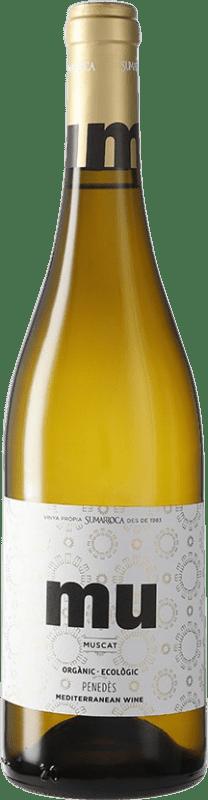 8,95 € Envío gratis | Vino blanco Sumarroca Muscat Blanc Joven D.O. Penedès Cataluña España Moscatel Botella 75 cl