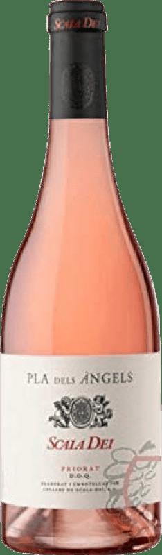 21,95 € Envío gratis | Vino rosado Scala Dei Pla dels Àngels Joven D.O.Ca. Priorat Cataluña España Garnacha Botella 75 cl