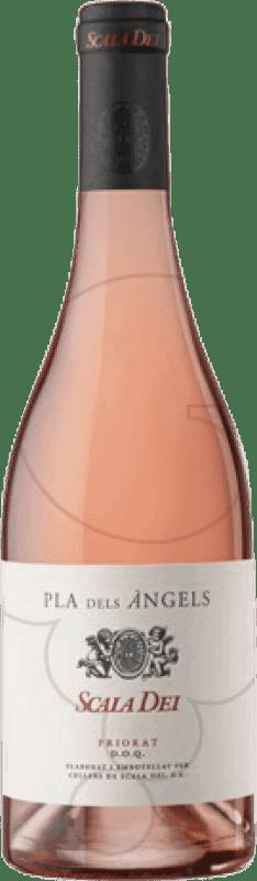 45,95 € Envío gratis | Vino rosado Scala Dei Pla dels Àngels Joven D.O.Ca. Priorat Cataluña España Garnacha Botella Mágnum 1,5 L