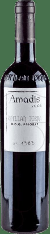 24,95 € Free Shipping | Red wine Rotllan Torra Amadis Reserva D.O.Ca. Priorat Catalonia Spain Merlot, Syrah, Grenache, Cabernet Sauvignon, Mazuelo, Carignan Bottle 75 cl