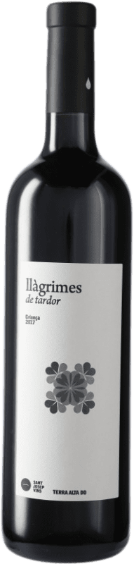 8,95 € 免费送货 | 红酒 Sant Josep Llagrimes de Tardor Negre Crianza D.O. Terra Alta 加泰罗尼亚 西班牙 Tempranillo, Syrah, Grenache, Mazuelo, Carignan 瓶子 75 cl
