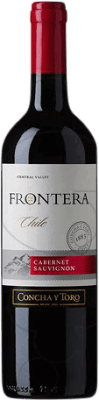 5,95 € | Red wine Concha y Toro Frontera Chile Cabernet Sauvignon Bottle 75 cl
