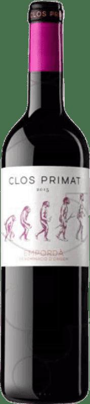 3,95 € | Red wine Oliveda Clos Primat Negre Joven D.O. Empordà Catalonia Spain Tempranillo, Grenache, Cabernet Sauvignon Bottle 75 cl