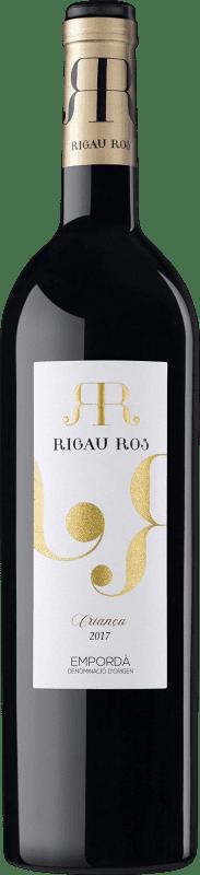 6,95 € | Red wine Oliveda Rigau Ros Negre Crianza D.O. Empordà Catalonia Spain Tempranillo, Grenache, Cabernet Sauvignon Bottle 75 cl