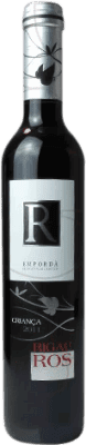 4,95 € Free Shipping | Red wine Oliveda Rigau Ros Negre Crianza D.O. Empordà Catalonia Spain Tempranillo, Grenache, Cabernet Sauvignon Half Bottle 37 cl