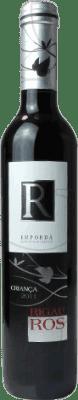 4,95 € Envío gratis | Vino tinto Oliveda Rigau Ros Negre Crianza D.O. Empordà Cataluña España Tempranillo, Garnacha, Cabernet Sauvignon Media Botella 37 cl