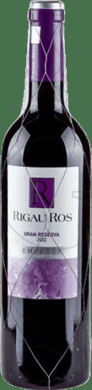 9,95 € | Red wine Oliveda Rigau Ros Negre Gran Reserva D.O. Empordà Catalonia Spain Tempranillo, Grenache, Cabernet Sauvignon Bottle 75 cl