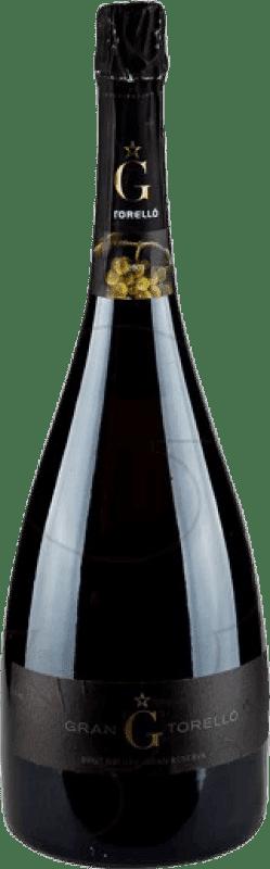 49,95 € Free Shipping   White sparkling Torelló Brut Nature Gran Reserva D.O. Cava Catalonia Spain Macabeo, Xarel·lo, Parellada Magnum Bottle 1,5 L