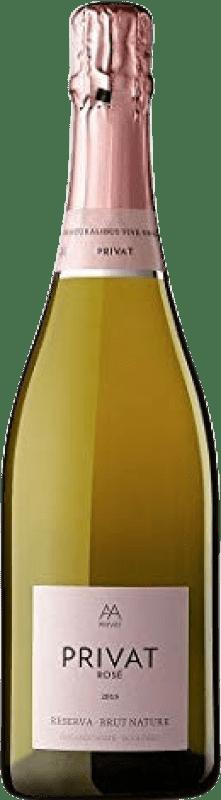11,95 € 免费送货 | 玫瑰气泡酒 Alta Alella Privat Rose Brut Nature Joven D.O. Cava 加泰罗尼亚 西班牙 瓶子 75 cl